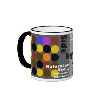 La paleta de color taza a dos colores