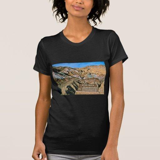 La paleta del artista camisetas