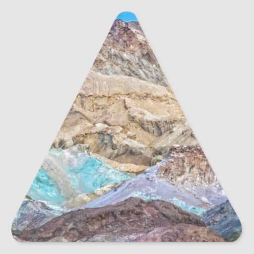 La paleta del artista (primer) pegatinas de trianguladas