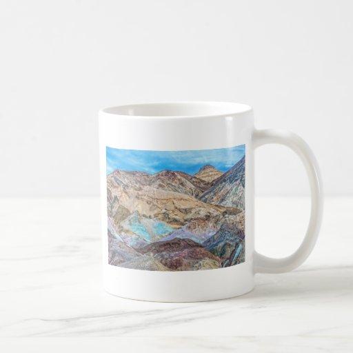 La paleta del artista (primer) taza