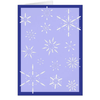 La paleta forma escamas tarjeta de felicitación
