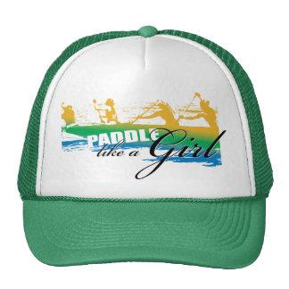 La paleta tiene gusto de un chica (el verde) gorras