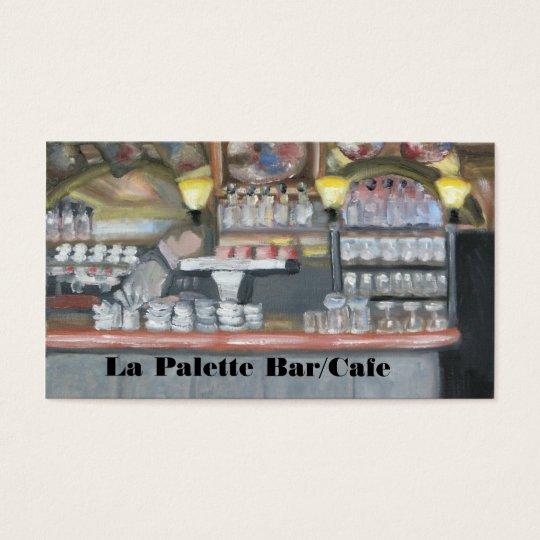 La Palette Bar/Cafe Business Card