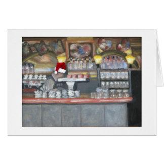 La Palette Cafe Christmas Card