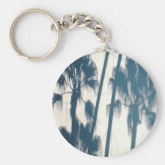 LA Palm Shadows Keychain