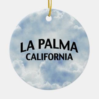 La Palma California Christmas Ornament