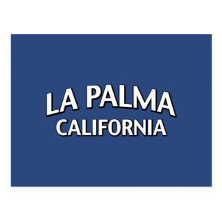 La Palma California Postcard