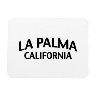 La Palma California Rectangle Magnets