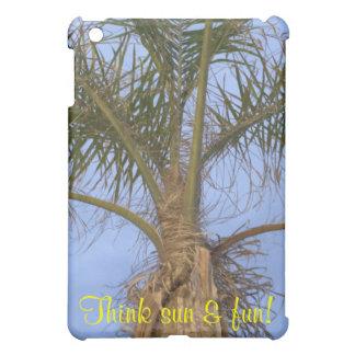 La palmera piensa Sun y la diversión