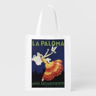 La Paloma - Anis Aguardiente promocional Bolsa De La Compra