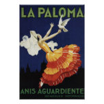 La Paloma - Anis Aguardiente promocional Impresiones