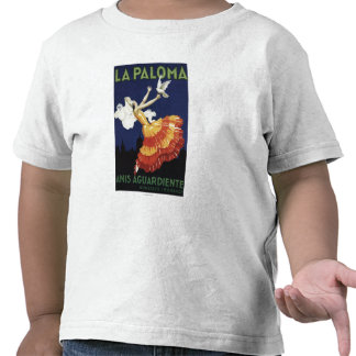 La Paloma - Anis Aguardiente promocional Camisetas