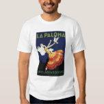 La Paloma - Anis Aguardiente promocional Remeras