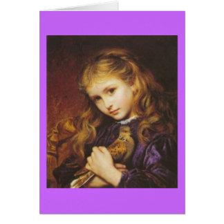 La paloma de la tortuga tarjeta pequeña