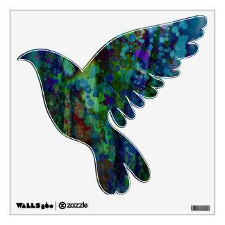 La paloma del © P Wherrell circunda el gráfico de
