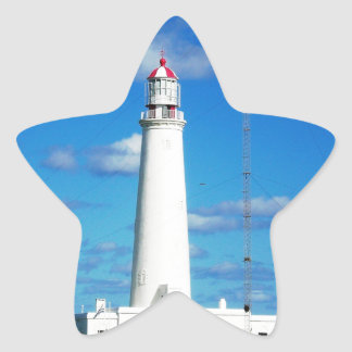 La Paloma Lighthouse Star Sticker