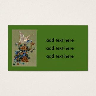 La paloma me olvida árbol de hoja perenne de Bell Tarjeta De Negocios