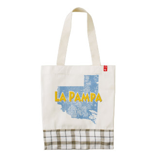 La Pampa Zazzle HEART Tote Bag