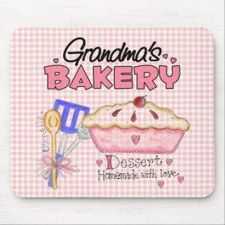 La panadería de la abuela mousepad