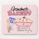 La panadería de la abuela tapetes de ratones