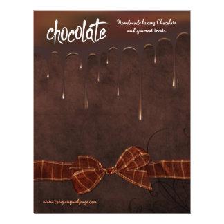 """La panadería y Chocolatier cuecen el aviador de la Folleto 8.5"""" X 11"""""""