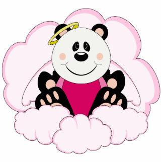 La panda del ángel de la niña de Cutelyn refiere l Escultura Fotografica