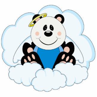 La panda del ángel del bebé de Cutelyn refiere las Escultura Fotografica