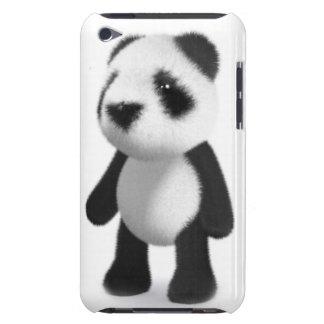 la panda del bebé 3d todavía se coloca iPod touch Case-Mate protector