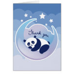 La panda el dormir le agradece tarjeta de nota