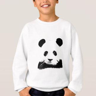 La panda mira a escondidas hacia fuera camisas
