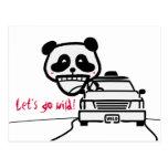 ¡la panda, nos dejó va salvaje! postales