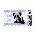 La panda pacificada le agradece los sellos