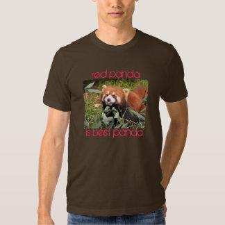 La panda roja es la mejor remera