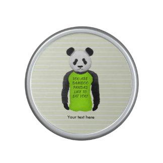 La panda su es pandas de bambú como comerle altavoz con bluetooth