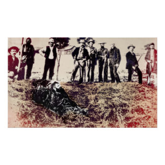 La pandilla consigue al proscrito 1893 - Visalia C Posters