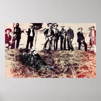 La pandilla consigue al proscrito 1893 - Visalia C Póster