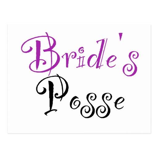 La pandilla de la novia postal