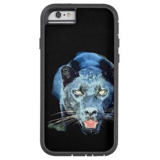 La pantera negra Jaguar observa el iPhone duro 6 Funda De iPhone 6 Tough Xtreme