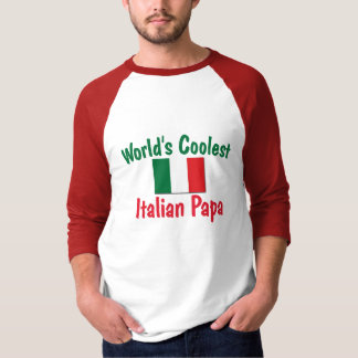 La papá italiana más fresca camisas