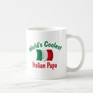 La papá italiana más fresca taza