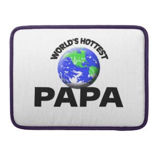 La papá más caliente del mundo funda para macbooks