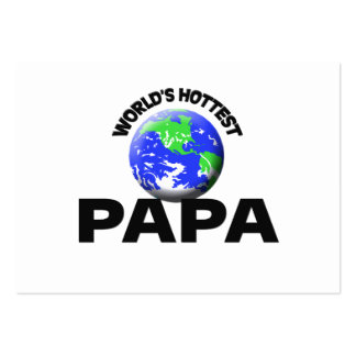 La papá más caliente del mundo tarjetas de visita