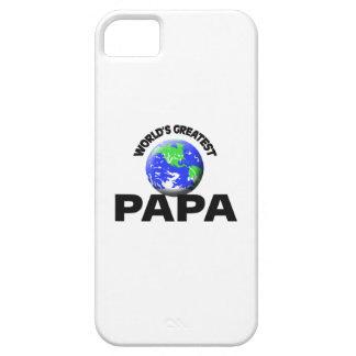 La papá más grande del mundo iPhone 5 carcasas
