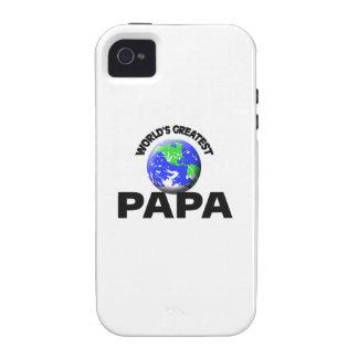 La papá más grande del mundo vibe iPhone 4 carcasa