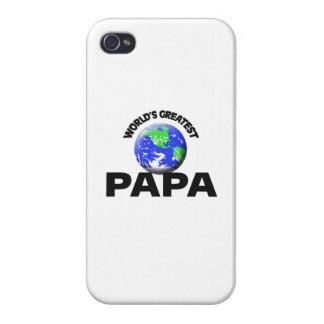 La papá más grande del mundo iPhone 4 cárcasa