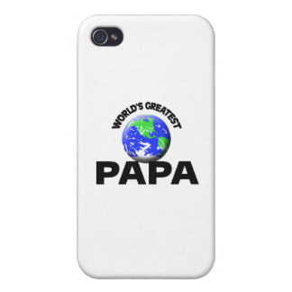 La papá más grande del mundo iPhone 4 protector