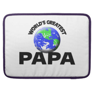 La papá más grande del mundo fundas macbook pro