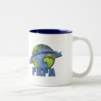 La papá más grande del mundo taza de café