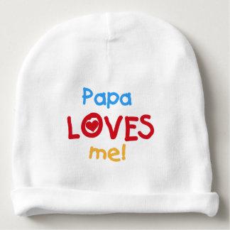 La papá me ama gorrito para bebe