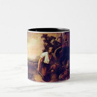 La parábola de los sepulcros del tesoro taza de dos tonos
